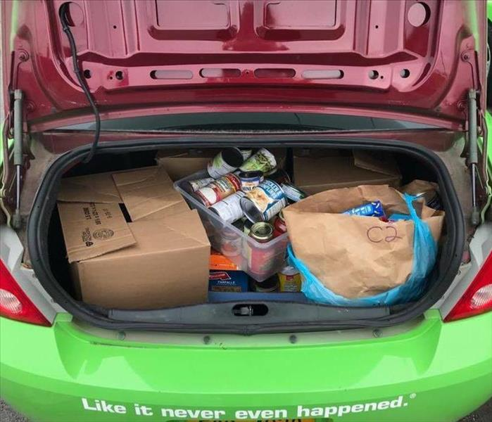 2017 SERVPRO of The Southtowns Food Drive
