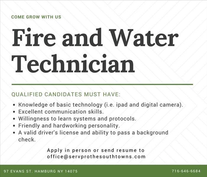 Technician Team Member Description