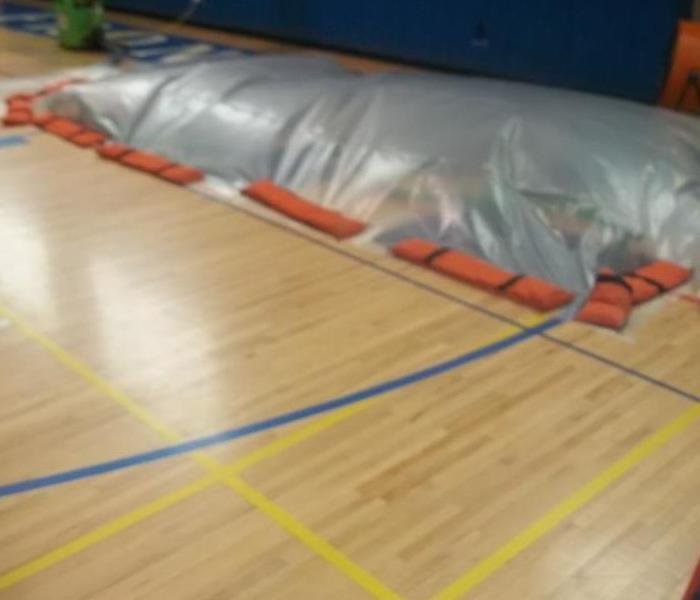 Commercial Injectidry Saves Gym Floor
