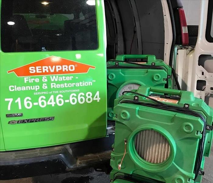 Why SERVPRO When Disaster Strikes, Time is Key