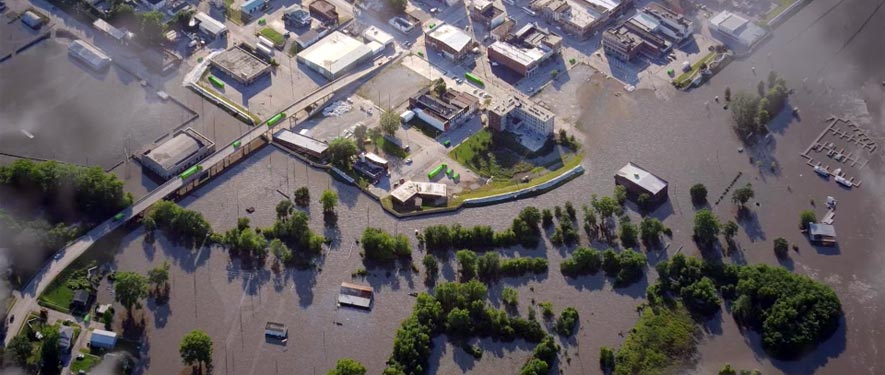 Lackawanna, NY commercial storm cleanup